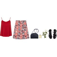 A fashion look from March 2015 featuring satin tank top, zara skirts and buckle sandals. Browse and shop related looks. Satin Tank Top, Zara Skirts, My Outfit, Fashion Looks, Tank Tops, Polyvore, Inspiration, Outfits, Shopping