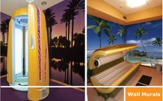 Tanning Salon Murals Your Way!
