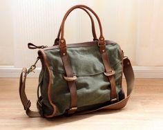 TOTE /CANVAS Tasche /Briefcase Tasche / Messenger von Commandery, $49.90