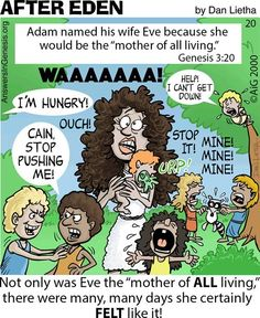 After Eden 20: Mother of All the Living