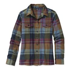 Patagonia Women's Long-Sleeved Fjord Flannel Shirt...maybe?