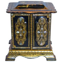 19th C. Italian Jewelry Box | From a unique collection of antique and modern jewelry boxes at https://www.1stdibs.com/furniture/more-furniture-collectibles/jewelry-boxes/