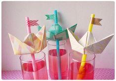 DIY: Les Pailles Petits Bateaux  -Chez cette fille-