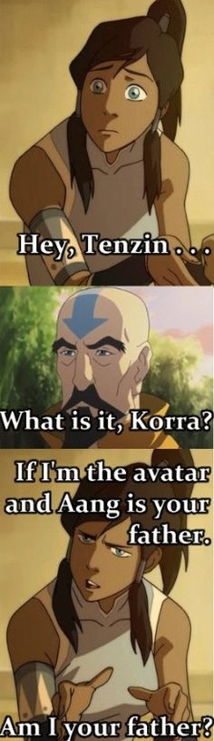 The Legend of Korra Tenzin Aang Haha! Avatar The Last Airbender Funny, The Last Avatar, Avatar Funny, Avatar Airbender, Korra Avatar, Team Avatar, Zuko, Anime Meme, Legend Of Aang