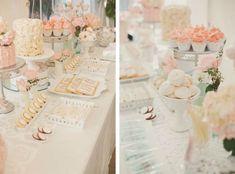 Pretty Pink Toronto Top Wedding sweets table