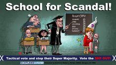 Taking down the SNP Glasgow, Scandal, Affair, Scotland, Promotion, Family Guy, Education, School, Cards