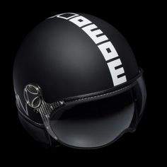 Momo Fighter Helmet - handcrafted Italian urban bike/scooter helmet, fashioned after helicopter pilot helmets.