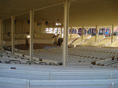 The amphitheater at the Chautauqua Institution
