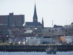 Portland, Maine (a shot from the ferry)
