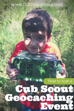 Great resource for planning and hosting a geocaching event for your Cub Scout…
