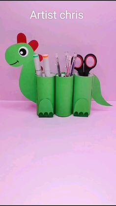 Diy Crafts Hacks, Diy Crafts For Gifts, Diy Crafts Videos, Fun Crafts, Paper Roll Crafts, Diy Paper, Origami Paper, Toilet Paper Crafts, Diy Origami