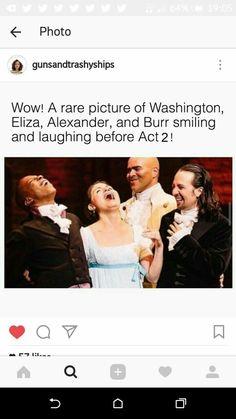 Ham's hair is down and Eliza's up? Hamilton Musical, Hamilton Broadway, Alexander Hamilton, Theatre Nerds, Musical Theatre, Theater, Twerk Twerk, Aaron Burr, Hamilton Comics