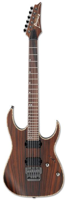 Ibanez Premium RG721RW , One of my Dream Guitars ,with its beautiful natural finish , and its Rosewood Top and american basswood body , that would give a perfect tone and sustain , and tight end R bridge that also would do a perfect job with the sustain and tone , it's a very sexy guitar for me .