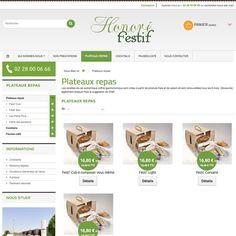 Site web d'Honoré Festif sous #prestashop