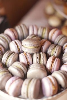 Pistachio and Nutella French Macaroons