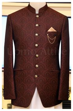 India Fashion Men, African Men Fashion, Mens Fashion Suits, Blazer Fashion, Jackets Fashion, Designer Suits For Men, Designer Clothes For Men, Dress Suits For Men, Men Dress
