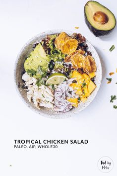 Tropical Chicken Salad | Food by Mars