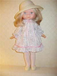 I loved this doll! Still have her in my closet for Cecilia! Her name is Mandy. We had matching coats