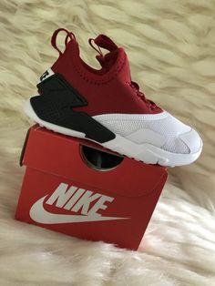 bc1eccd98e0 TODDLER BOYS  Nike Huarache Drift Shoes Red White Black - Size 8C AA3504
