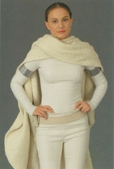 """The outfit Padme (Natalie Portman) wore on Geonosis in """"Star Wars - Episode 2: Attack of the Clones."""" Description from bestuff.com. I searched for this on bing.com/images"""