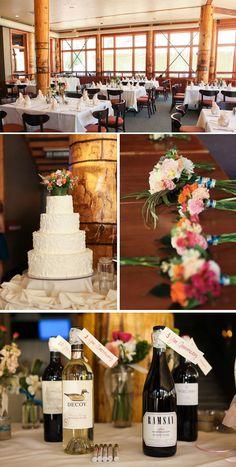 Rustic Wedding Reception Details at Canyons Resort, Red Pine Lodge  Photo: Logan Walker Photography  www.peppernix.com  #mountainwedding