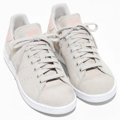 A hero piece in every wardrobe, these pastel pink trainers are currently on my wish list.