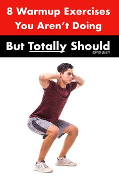 Boost your warm up routine with these 8 optimal warm up exercises. These 8 reliable exercises will fully warm up your body and prevent injury. Bodyweight Strength Training, High Intensity Interval Training, Body Weight, Weight Loss, Workout Plan For Men, Workout Guide, Workout Plans, Warm Up Routine, Lose Thigh Fat