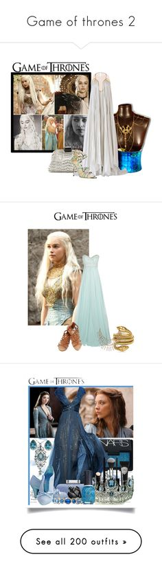 """Game of thrones 2"" by ericmyri ❤ liked on Polyvore featuring Nancy Gonzalez, Maria Lucia Hohan, Jimmy Choo, Tom Ford, Jovani, Humble Chic, NARS Cosmetics, Eyeko, Elie Saab and Giorgio Armani"