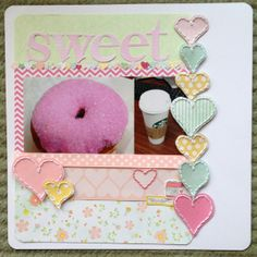 LOVE the stitched hearts, cut out after the stitching was completed.  Sweet by Darkchami @2peasinabucket