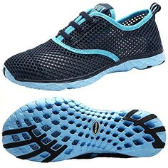 1da5137762bf2a Outdoor Shoes Aleader Women s Quick Drying Aqua Water Shoes Blue 7 D(M) US  - Boutique Page
