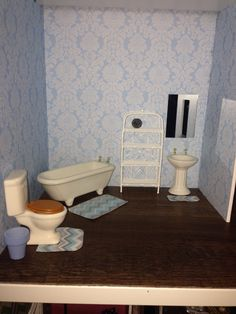 Dollhouse Bathroom   Hobby Lobby