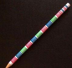 El famoso lápiz prohibido en los exámenes...