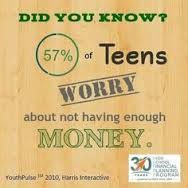 According to Charles Schwab Foundations, many of our teens in the United States are clueless about money matters. Less than half of teens say they do not know about money matters ranging from credit cards to balancing a checkbook. Have YOU Had The  Talk With YOUR Children?! KRG. www.kimrgrimes.com