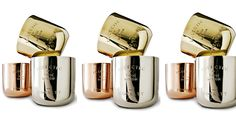 Tom Dixon Metallic candles - available #thecoolhouse Melbourne/Sydney www.thecoolhunter.com.au/article/detail/2136/the-cool-house%3a-the-firstever-popup-boutiques-by-the-cool-hunter