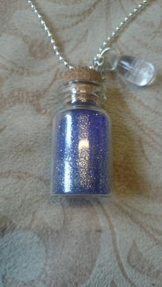 Check out this item in my Etsy shop https://www.etsy.com/listing/221720554/pretty-purple-glitter-wish-vial-with