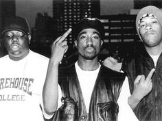 Biggie Smalls, Tupac Shakur and Redman