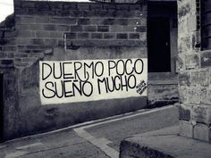 "Accion poetica. ""Sleep little, dream a lot"""