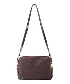 Take a look at this Burgundy Veronica Crossbody Bag by Shiraleah on #zulily today!