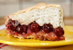 tarta cu visine si bezea Sandwiches, Gallery, Link, Desserts, Food, Pie, Tailgate Desserts, Deserts, Essen