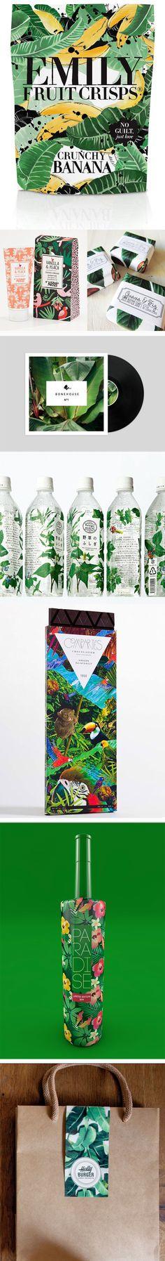 Theme: Jungle Fever! Förpackad -Blogg om Förpackningsdesign, Förpackningar, Grafisk Design - CAPDesign