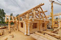Блог о деревянных рубленых домах, срубах, плотницком ремесле, канадской рубки.