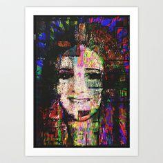 Hayley Art Print by brett66 - $14.56 Twin ~ Hayley