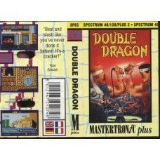 Double Dragon for Spectrum by Mastertronic Plus on Tape