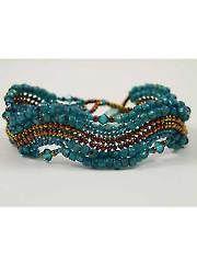 Beading Jewelry - Curves Bracelet Kit - #809677