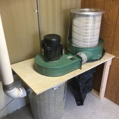 Dust Collection Issues. #4: A re-vamp of my Green Valley HF setup with truck filter.