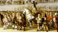 Charles II's cavalcade through the City of London, 22 April 1661, by Dirk Stoop