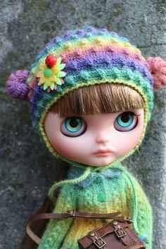 Lina - My first doll Blythe / Blythe dolls, Blythe dolls / Beybiki. Photo Dolls. Clothes for dolls