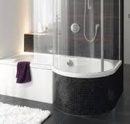 Image result for shower and soaker tub combo