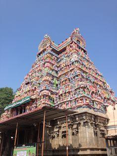 Small Gopuram Of temple