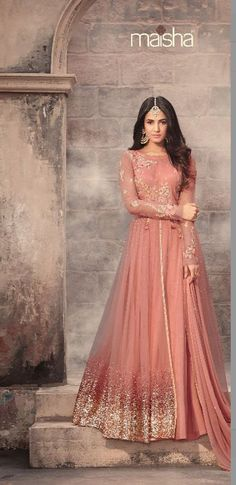 Looking to buy Anarkali online? ✓ Buy the latest designer Anarkali suits at Lashkaraa, with a variety of long Anarkali suits, party wear & Anarkali dresses! Indian Wedding Gowns, Indian Gowns Dresses, Indian Fashion Dresses, Abaya Fashion, Indian Outfits, Bridal Dresses, Party Wear Indian Dresses, Flapper Dresses, Indian Bridal Wear